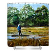 Carolina Cove Shower Curtain