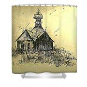 Carolina Farm House Shower Curtain