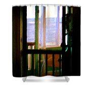 Carolina Morning Shower Curtain