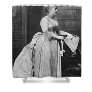 Caroline Lavinia Harrison (1832-1892) Shower Curtain