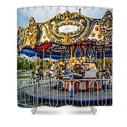 Carousel 3 Shower Curtain