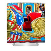 Carousel Chariot Shower Curtain