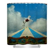 Carousel Day Shower Curtain