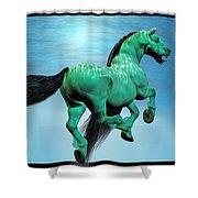 Carousel Iv Shower Curtain