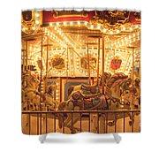 Carousel Night Lights Shower Curtain