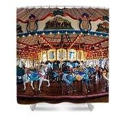 Carousel Ride Shower Curtain