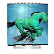 Carousel V Shower Curtain