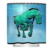 Carousel Xii Shower Curtain