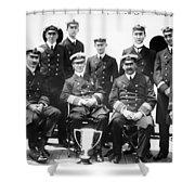 Carpathia Crew, 1912 Shower Curtain