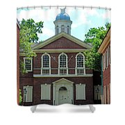Carpenters Hall In Philadephia Shower Curtain