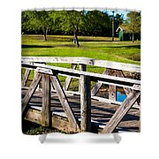 Carpenters Park 2 Shower Curtain