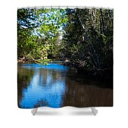 Carpenters Park 5 Shower Curtain