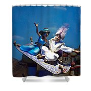 Carpet Ride Shower Curtain by Ryan Crane