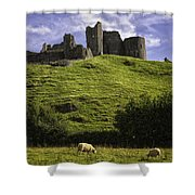 Carreg Cennan Castle Shower Curtain