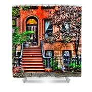 Carrie's Place - Sex And The City Shower Curtain