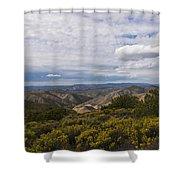 Carrizo Canyon Shower Curtain