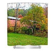 Carrollton Covered Bridge 2 Shower Curtain