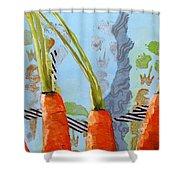 Carrots Shower Curtain