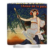 Carry The Ideal Waterman Pen - Shower Curtain
