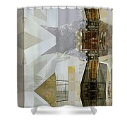Carrying Shoolchildren Shower Curtain