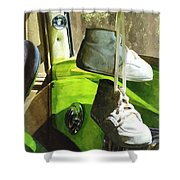 Cars - Baby Shoes Shower Curtain