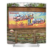 Cars Land Shower Curtain