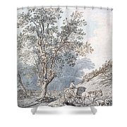 Cart And Horse Shower Curtain