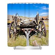 Cart Shower Curtain