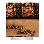 Cartier Jewellery Shower Curtain