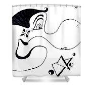 Cartoon Eddie Shower Curtain