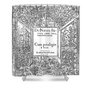 Cartouches, 1536 Shower Curtain