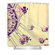 Carussell Shower Curtain