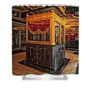 Carver Theatre Box Office - Birmingham Alabama Shower Curtain