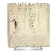 Caryatid Shower Curtain