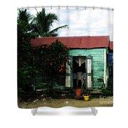 Casa Numero Seis Shower Curtain