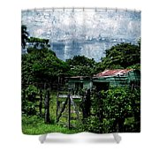Casa Verde  Shower Curtain