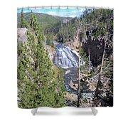 Cascade Canyon Shower Curtain