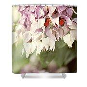 Cascade Of Flower Shower Curtain