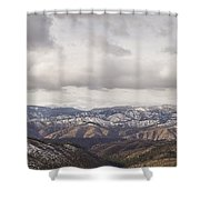 Cascade Panorama Shower Curtain