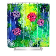 Cascading Light By Jan Marvin Shower Curtain