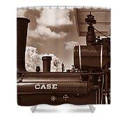 Case Steam Shower Curtain