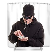 Cash Card Shower Curtain