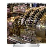Cash Register Vintage Shower Curtain