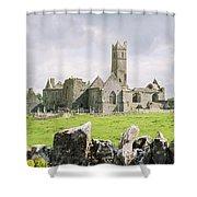 Cashel Abbey Shower Curtain
