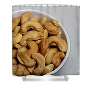 Cashews - Nuts - Snack Food Shower Curtain