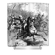 Casimir Pulaski (1748-1779) Shower Curtain