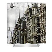 Casino Arcade Damrak Amsterdam Shower Curtain