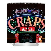 Casino Time Shower Curtain