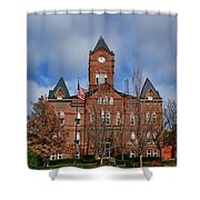 Cass County Courthouse Shower Curtain