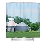 Cass County Farm Shower Curtain